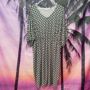 Cold Shoulder Dress - Avenue - Size 22/24